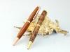 Cocobolo & Redwood Burl Comfort Pens