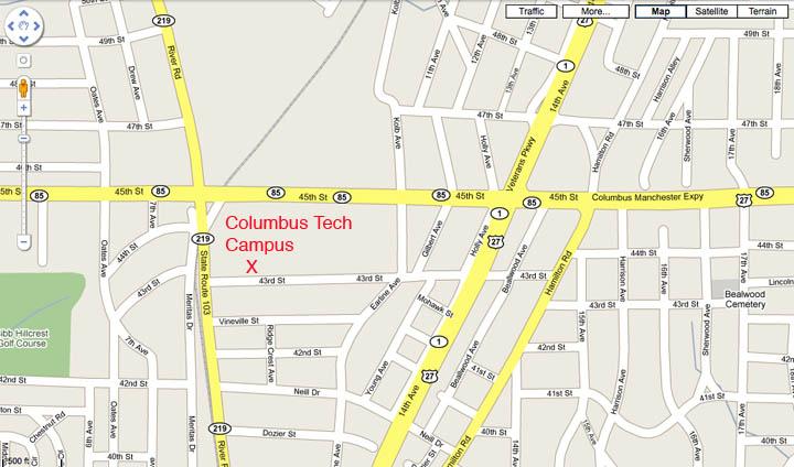 tech school map